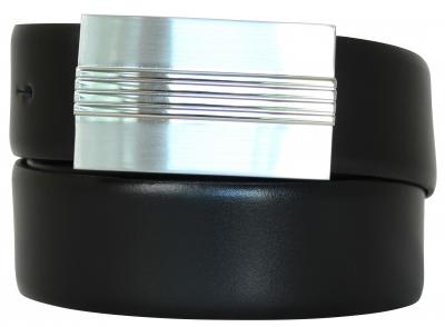 Koppelschnalle Ledergürtel,Gürtel aus Vollrindleder 3,4 cm breit,sehr stabil