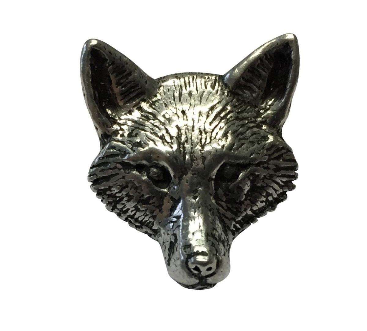 Ansteckpin Wolf Kopf