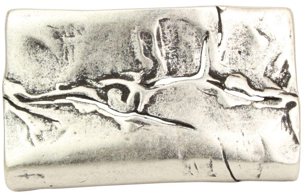 Brazil Lederwaren G/ürtelschlie/ße Crack 4,0 cm